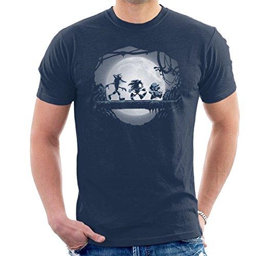 Cloud City 7 Gaming Matata Mario Sonic Hedgehog Men's T-Shirt
