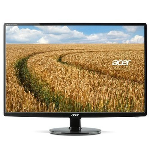 Acer S271HL DBID 27' IPS LED Full HD Monitor Thin Design- Black