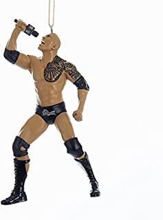 Kurt Adler WWE THE ROCK ORNAMENT & 2017 WWE. ALL RIGHTS RESERVED