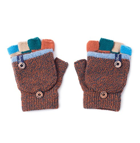 3-6 years old Turkoni Winter Warm Student Writing Gloves Baby Gloves Children Knitted Mittens