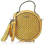 XTI 86290.0, Bolso bandolera para Mujer, Amarillo (Amarillo), 22x22x7 cm (W x H x L)