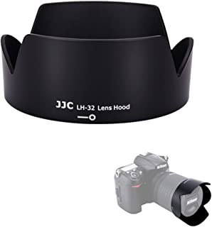 JJC Reversible Dedicated Lens Hood Shade for Nikon AF-S DX 18-140mm f/3.5-5.6G ED VR, AF-S DX 18-105mm f/3.5-5.6G ED VR, AF-S DX 18-135mm f/3.5-5.6G ED IF, Nikon HB-32 Replacement Lens Hood