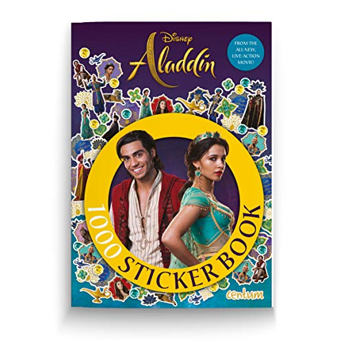 Aladdin 1000 Sticker Book