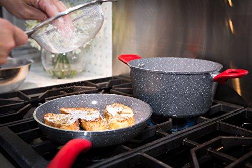 CeraPan Marble Hill 10 Piece Set Aluminum Cookware Set