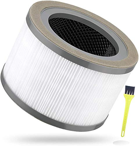 Poweka 200 Luftreiniger Ersatzfilter für Levoit Vista, kompatibel mit Levoit Vista 200, Vista 200-RF Luftreiniger True HEPA Ersatzfilter