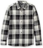 Volcom Caden Manga Larga Camisa, Hombre, Caden Longsleeve, Cloud, Extra-Small