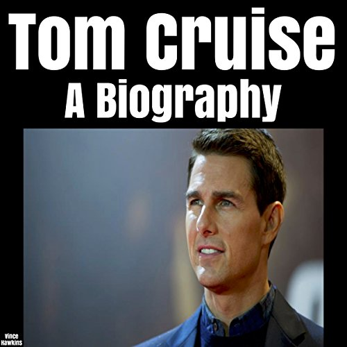 Tom Cruise audiobook cover art