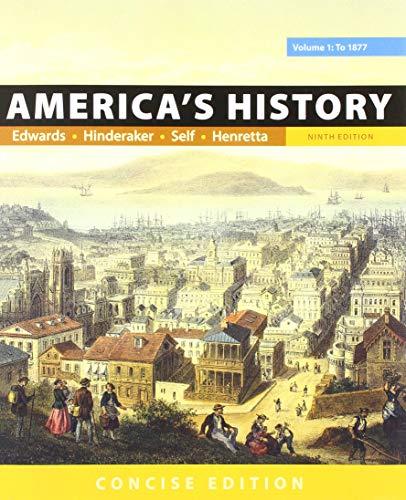 America's History: Concise Edition, 9e, Volume 1 & LaunchPad for America's History and America's History: Concise Editio