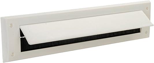FIXMAN 916133 brievenbusafdichting met klep 338 x 78 mm, wit