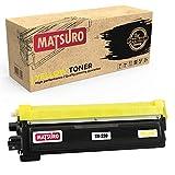 Matsuro Original | Compatible Cartucho de Toner Reemplazo para Brother TN-230 (1 Amarillo)