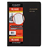 AT-A-GLANCE Weekly Planner/Appointment Book, Academic Year, 14 Months, July 2015–August 2016, 8.25 x 10.88 Inch Page Size (70-957-05)