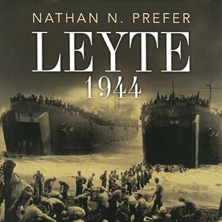 Leyte 1944 audiobook cover art