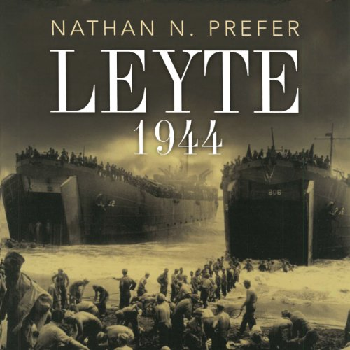 Leyte 1944 audiobook cover art