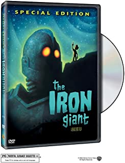 iron giant vhs with toy