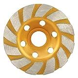 Disco abrasivo de segmento de diamante redondo de 100 mm, amoladora, herramienta de corte, taza,...