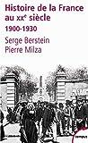 Histoire de la France au XXe siècle de Serge BERSTEIN (12 mars 2009) Broché - 12/03/2009