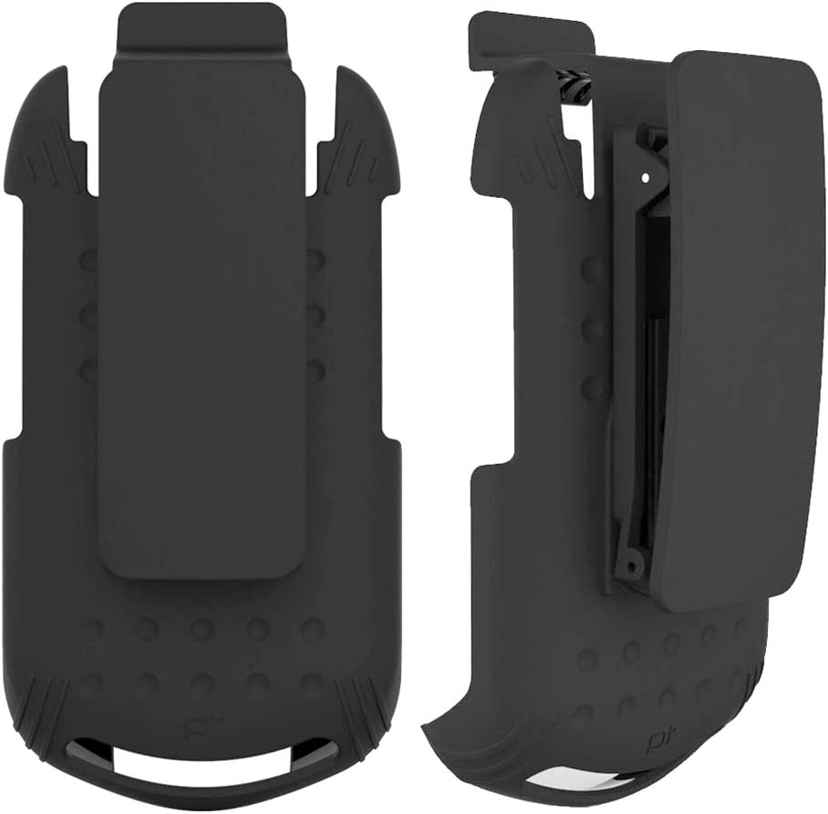 Wireless ProTech Case with Clip Compatible with Kyocera DuraXV Phone Model E4520, Secure fit, Quick Release Latch and Heavy Duty Swivel Belt Clip Holster