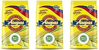 Weißes Maismehl vorgekocht für Arepas / Harina de Maiz blanca precocida para Arepas 10 x 1kg