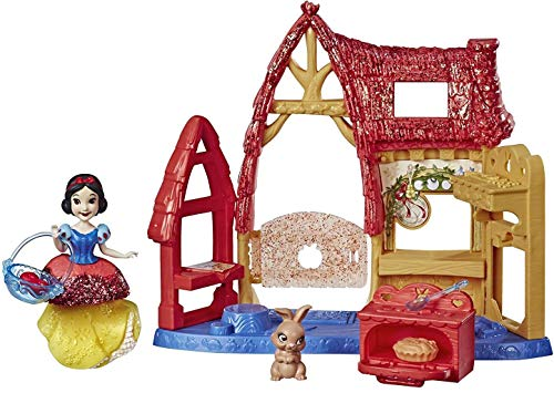 Snow White Cottage Royal Clips