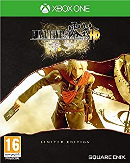 Final Fantasy Type-0 HD Limited Edition Steelbook XBOX One Game (Includes FFXV Demo)