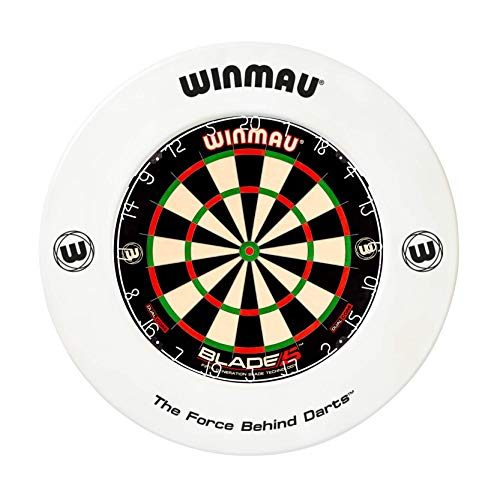 WINMAU Printed White Dartscheibe Surround