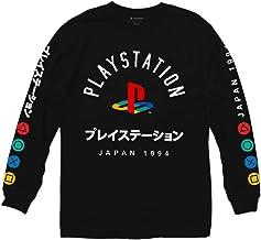 Ripple Junction - Playera de manga larga con logo Playstation a color japonés