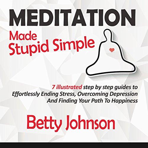 Meditation Made Stupid Simple audiobook cover art