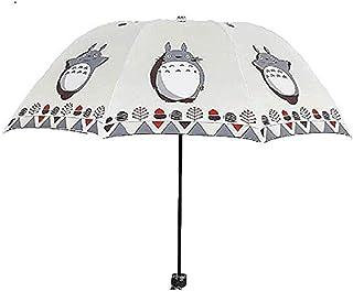 My Neighbor Marery Totoro Creative Design Anti-UV Sun Umbrella Triple Folding UV Protected Parasol