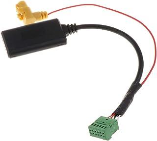 Almencla Cabo adaptador de áudio Bluetooth para carro, entrada auxiliar de áudio e música, com MMI 3G AMI, compatível com ...
