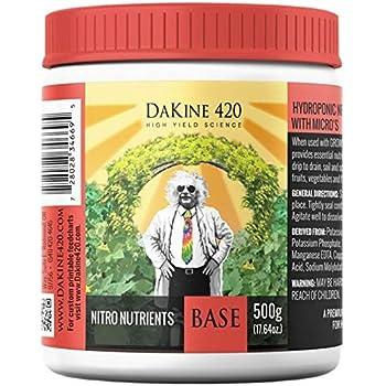 DaKine 420 Nitro Nutrients Base Indoor Plant Food 3-13-26 Fertilizer, 500g