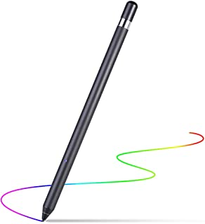 REXIAO Fine Point Stylus Pens for Touch Screens, Fine Tip Active Stylus Digital Drawing Pen for ipad iPhone Surface and Other Android Tablet Phone