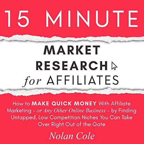 15-Minute Market Research for Affiliates cover art
