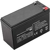 BeMatik - Batería sellada de Plomo-ácido de 12V 6Ah Recambio SAI