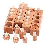 X-LIVE Pädagogisches Spielzeug Steckspielzeug Montessori Lernspielzeug für Baby Geschenk zum Geburtstag Kindertag Weihnachten …
