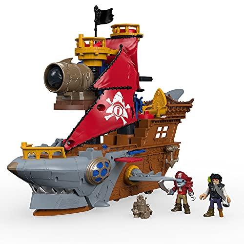 Imaginext Barco Pirata Tiburón  Mattel