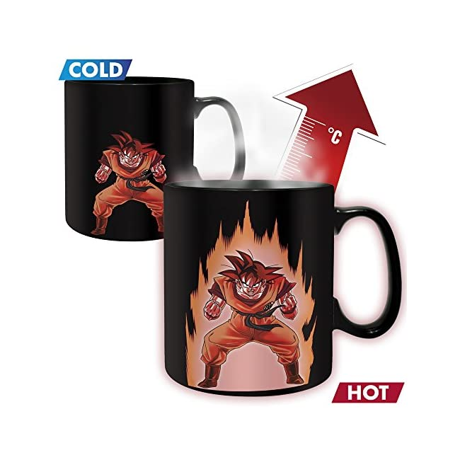 ABYstyle - DRAGON BALL - thermisch reaktivTasse - 460 ml - Goku