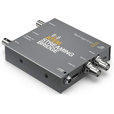 【国内正規品】Blackmagic Design ビデオコンバーター ATEM Streaming Bridge SWATEMMINISBPR