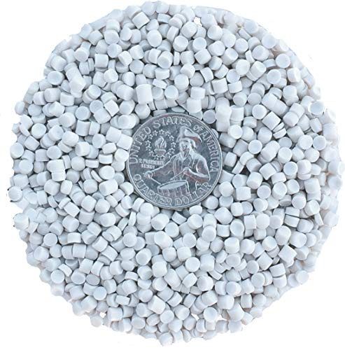 Poly Plastic Pellets Bulk for Weighted Blankets (50LBS) Machine Washable & Dryable Poly Beads