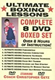 """""""Ultimate Boxing Lessons"""" COMPLETE 8 DVD BOXED SET, Starring Boxing Coach Christopher Getz"""