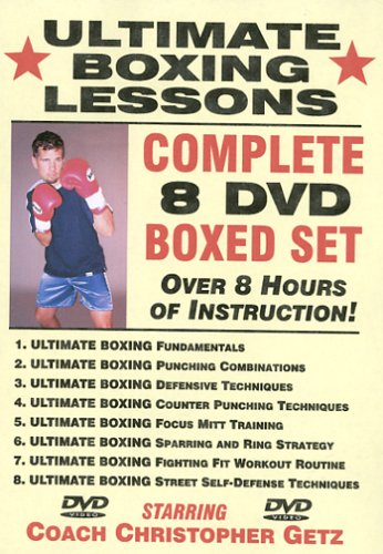 'Ultimate Boxing Lessons' COMPLETE 8 DVD...