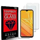 YISPIRIN (3 Piezas) Cristal Templado para Ulefone Note 8, Dureza 9H, Anti-Rasguño,Fácil de instalar, Vidrio Templado Protector de Pantalla para Ulefone Note 8