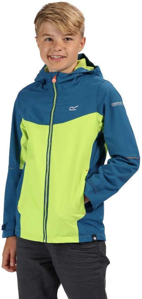 Jacket Fleece Lined Sizes 3 11 12 13 14 Years Boys Regatta Waterproof Coat