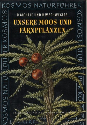Unsere Moos- und Farnpflanzen : Eine Einführung in die Lebensweise, den Bau und das Erkennen heimischer Moose, Farne, Bärlappe und Schachtelhalme. (Kosmos-Naturführer)