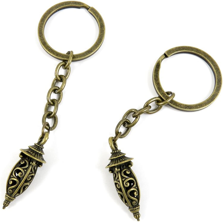 100 Pieces Fashion Jewelry Keyring Keychain Door Car Key Tag Ring Chain Supplier Supply Wholesale Bulk Lots L4MQ7 Streetlight Lamppost