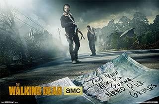 Trends International Walking Dead Street Wall Poster 22.375