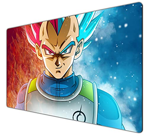 Dragon Ball Z-7 Large Mouse Pad with Personalized Design Gaming Mouse Pad Waterproof Desk Pad for Office Home