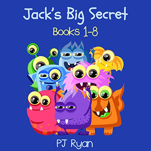 Jack's Big Secret: Books 1-8 cover art
