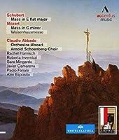 モーツァルト&シューベルト : ミサ曲集 (Schubert : Mass in E flat major | Mozart : Mass in C minor Waisenhausmesse / Claudio Abbado , Orchestra Mozart , Arnold Schoenberg Choir) [Blu-ray] [輸入盤]