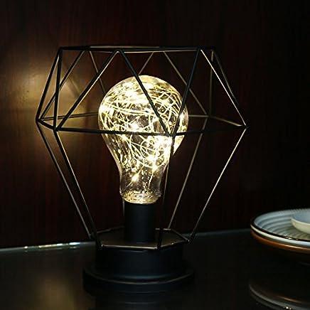 Amazon.es: lamparas alambre - Lámparas de mesa y mesilla de ...