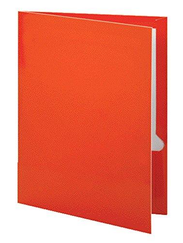 Oxford Metallic Laminated Two-Pocket Folders, Copper, Letter Size, 25 per Box, (5049580)